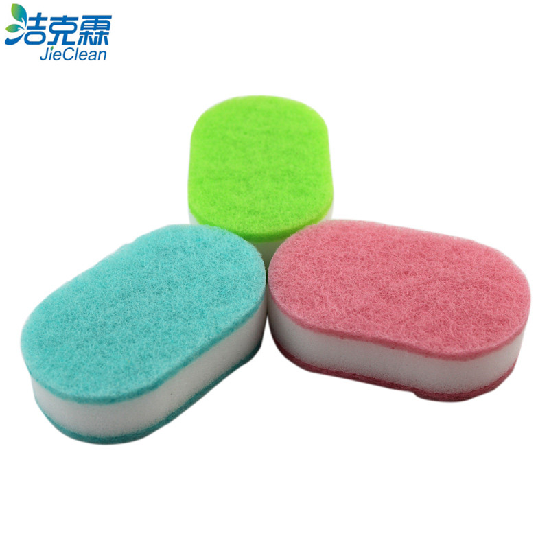 Scouring Pad of 8 Shape
