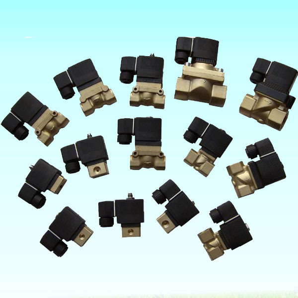 Air Compressor High Pressure High Temperature Normally Closed Type Pop Pilot Stainless Steel Solenoid Valve 220V
