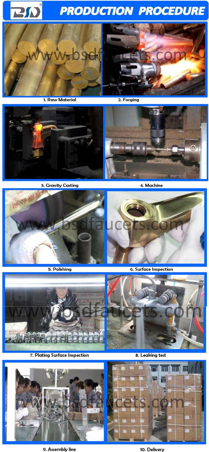 Economic Single Lever Brass Spout Sink Mixer