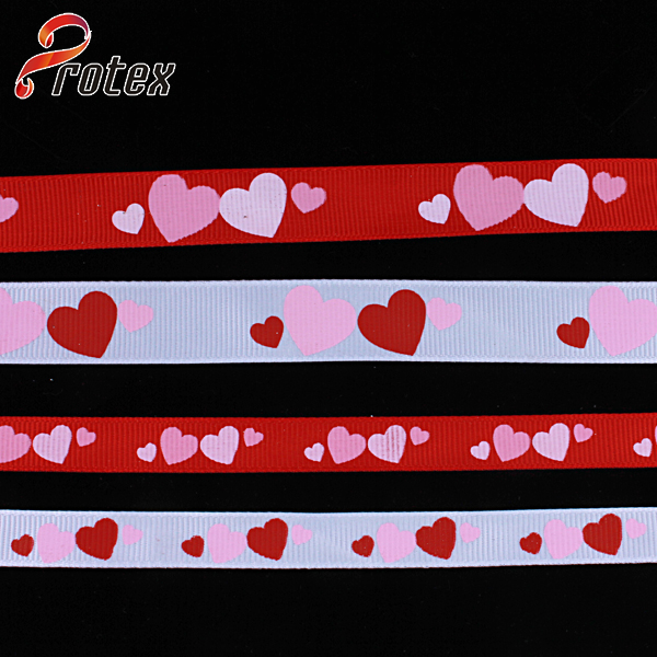 Heart-Shape Printed Ribbon