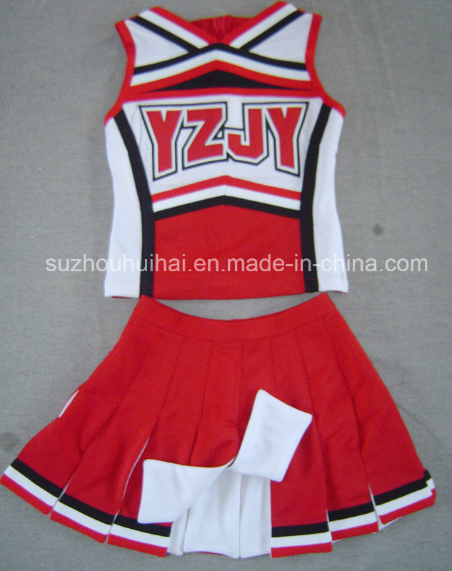2016 Cheerleading Uniforms: Shell Top and Skirt