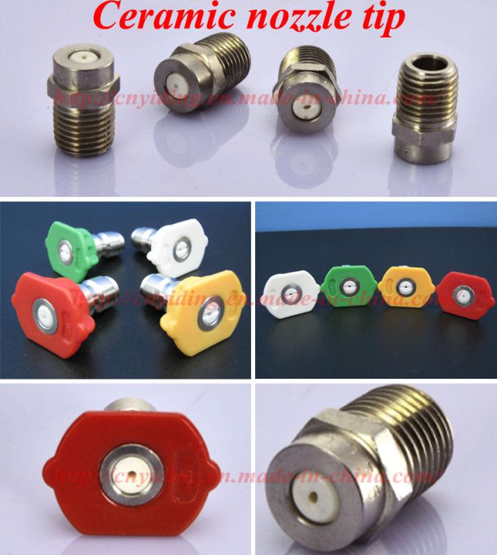 0 Degree Ceramic Threaded Nozzle (DT-00040T)