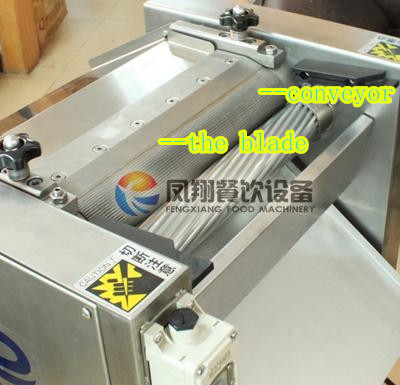 Fish Skin Peeling Machine, Squid Tilapia Mossambica Skin Removing Machine Fgb-400