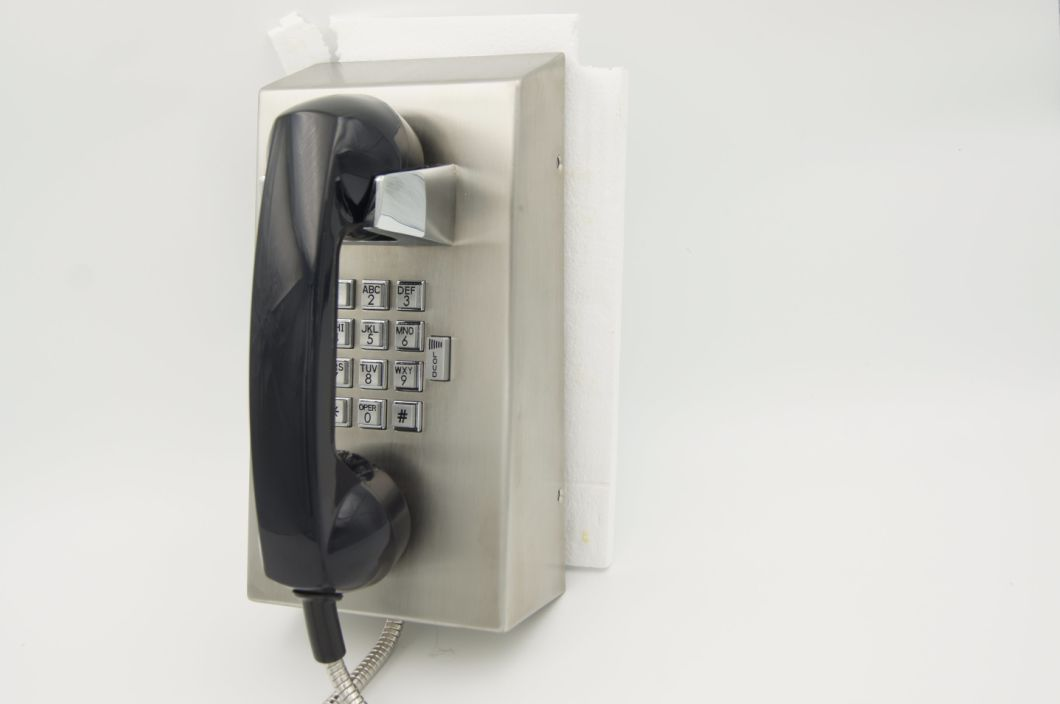 Explosion Proof Telephone SIP VoIP Wired Jail Telephone with Hot Sale