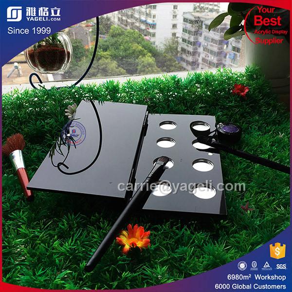Wholesale Elegant Acrylic Cosmetic Display for Eye Shodow