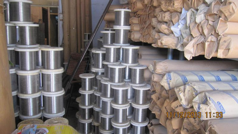Stainless Steel Spool Wire for Weaving