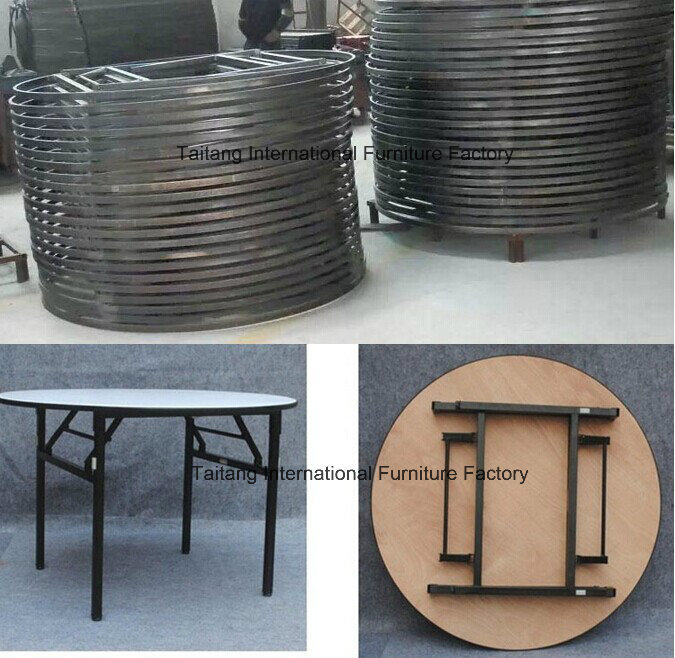 Hotel and Restaurant Modern Round Folding Table