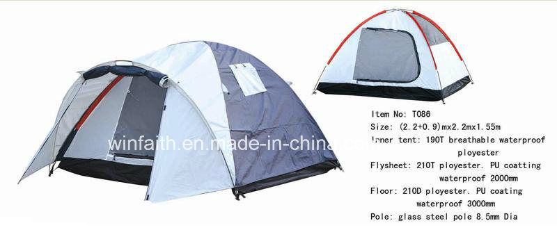 Pop up Outdoor Camping Tent of 3-4persons