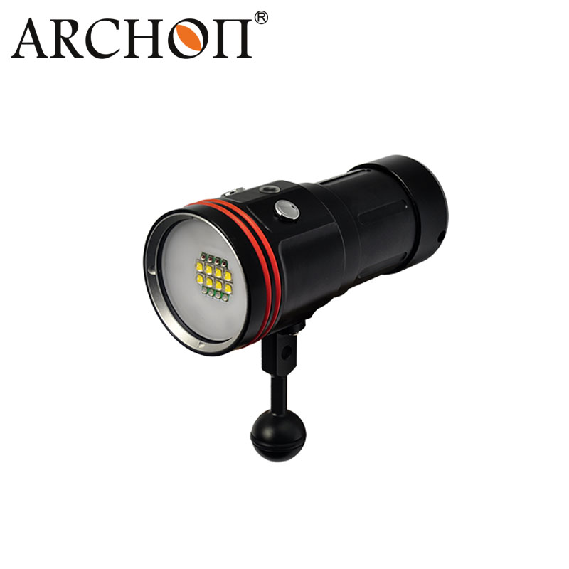 Diving Equipment 50watts Four Light Dive Video Torch W42V
