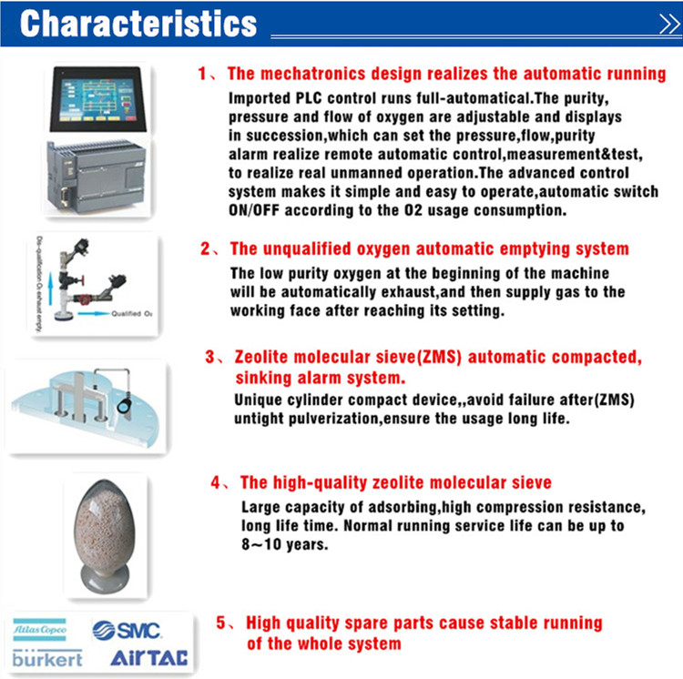 Guangzhou Psa Oxygen Generator (ISO9001, CE)
