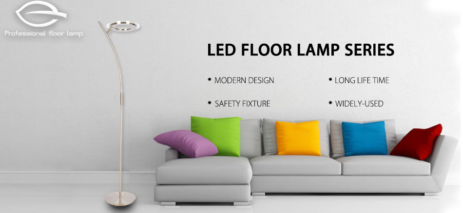 Uplighter 30W Single Tube LED Floor Lamp