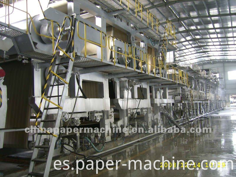 Coating White Board Paper Machine
