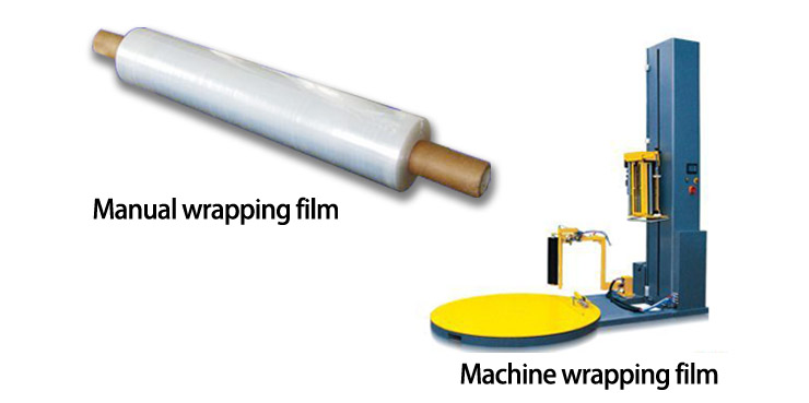 LDPE Wrapping Film for Machine Use
