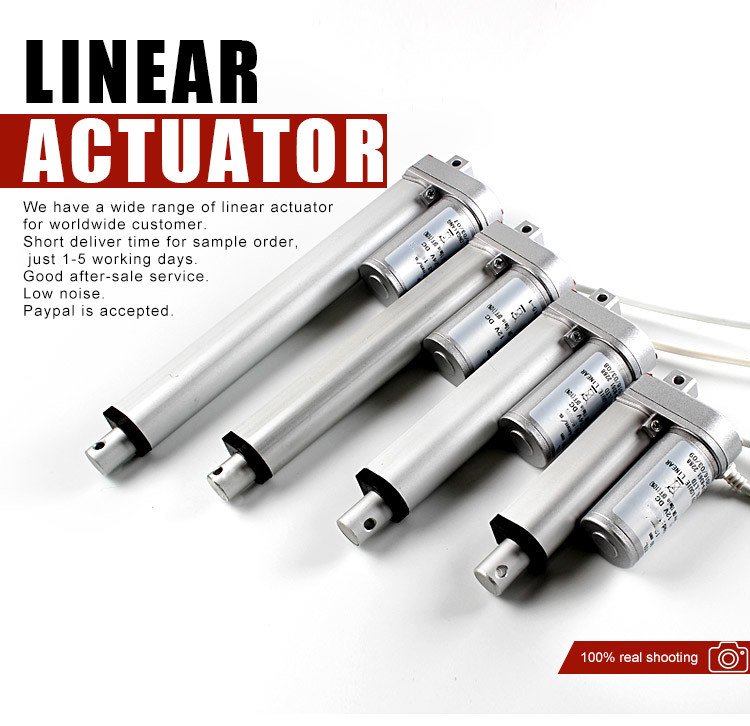 12V/24V IP65 Linear Actuator with Handcontroller and Power Pass CE