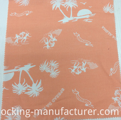 Linen/Cotton Blended Printed Garment/ Home Textile Fabric