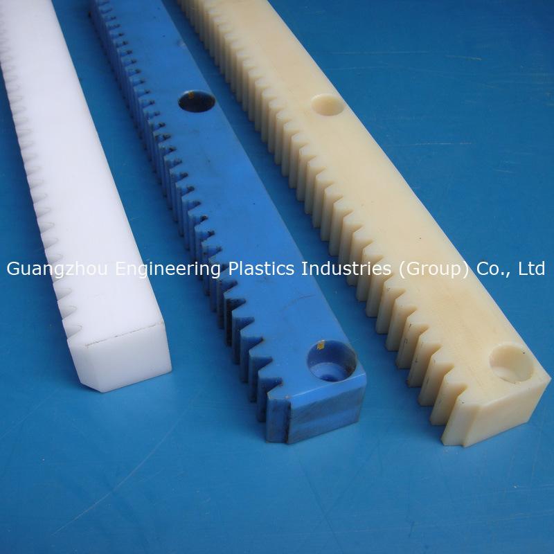 Guangzhou Factory Plastic Nylon PA Polyamide Gear Rack