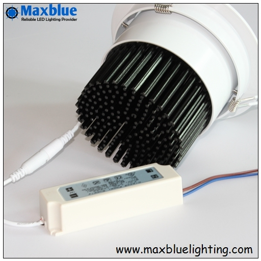 Hotel Lighting 15/24/38/60 Degree Beam Angle COB LED Downlight