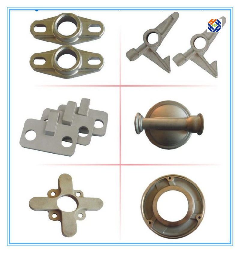 Aluminum Die Casting Angle Foot Part for Fall Protection Equipment