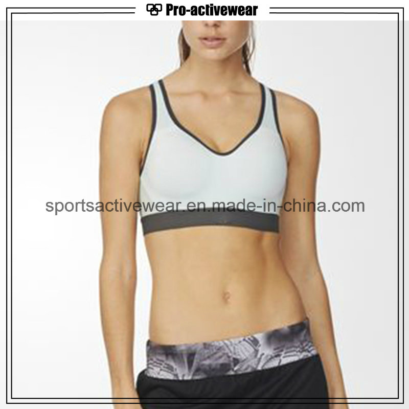 OEM Hot Selling Fashion Women Push up Seamless Cross Back Sport Bra