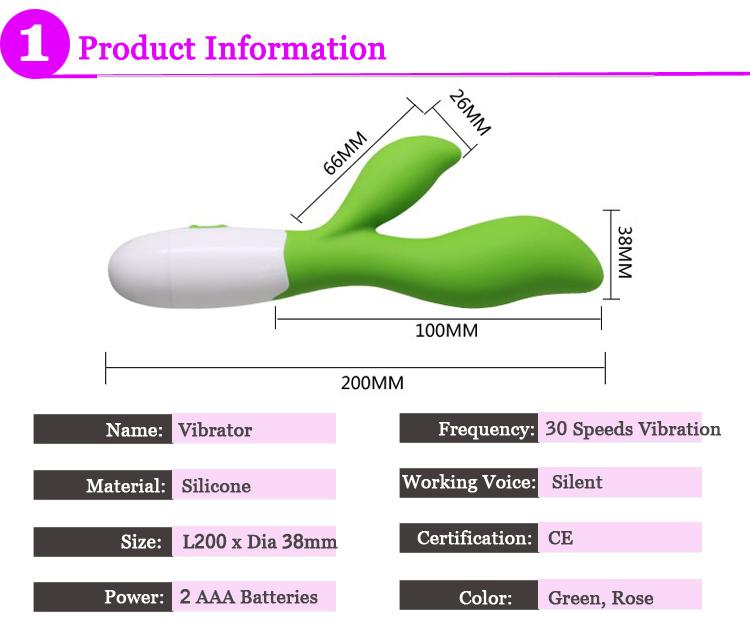 30 Speed Silicone Pretty Love G Spot Vibrator