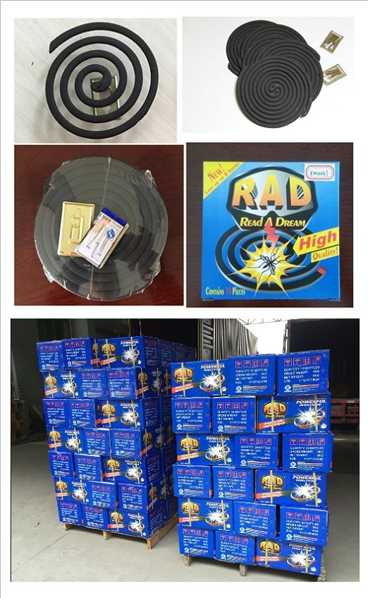 125mm Rad Smokeless New High Quality Mosquito Repellent Coil