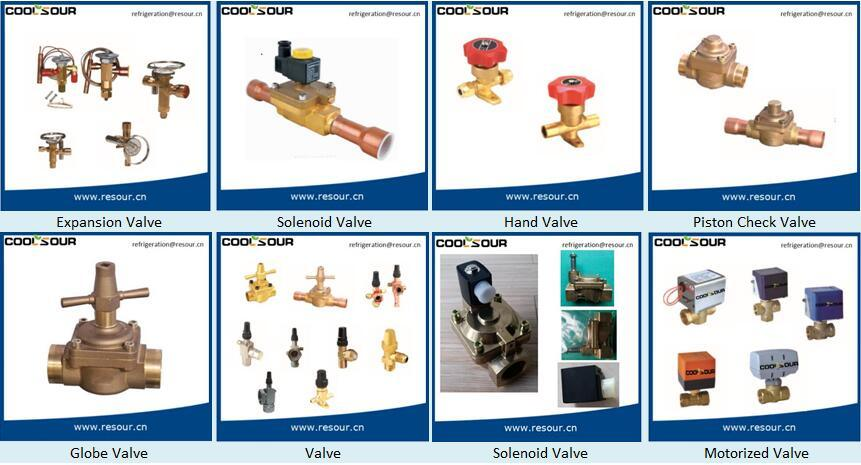Coolsour Miniature Solenoid Valve, Refrigeration Fittings