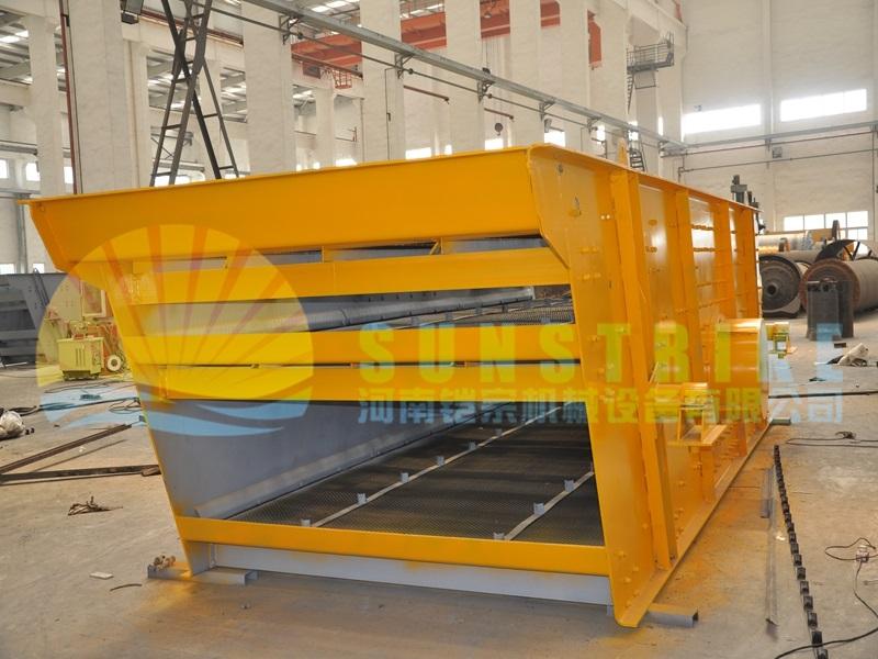 Professional Gold Mining Machine Rounding Vibrating Screen