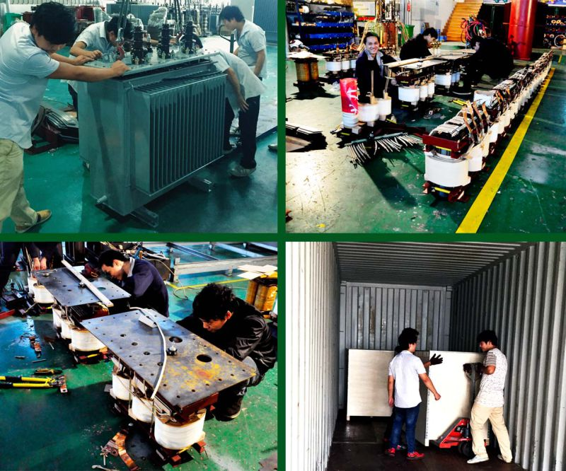 15kv Three Phase Oil Immersed Electrical Transformer