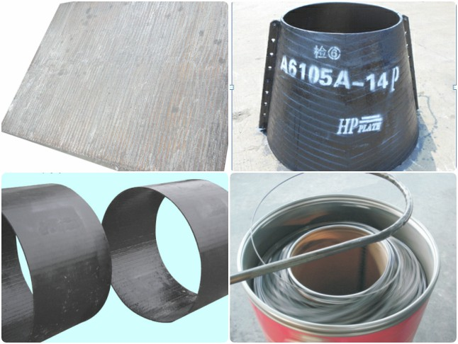 Wear Plate Wear Parts Hardfacing Wire