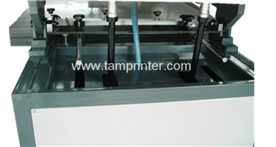 Ce Automatic Large Format Oblique Arm Flat Screen Printing Machine