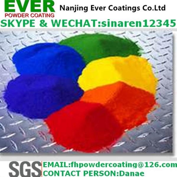 White Color Crocodile/Lizard Texture Finish Powder Coating Paint