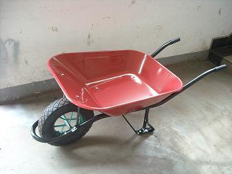 Russia Steel Wheel Barrow with High Quality (Wb6438)