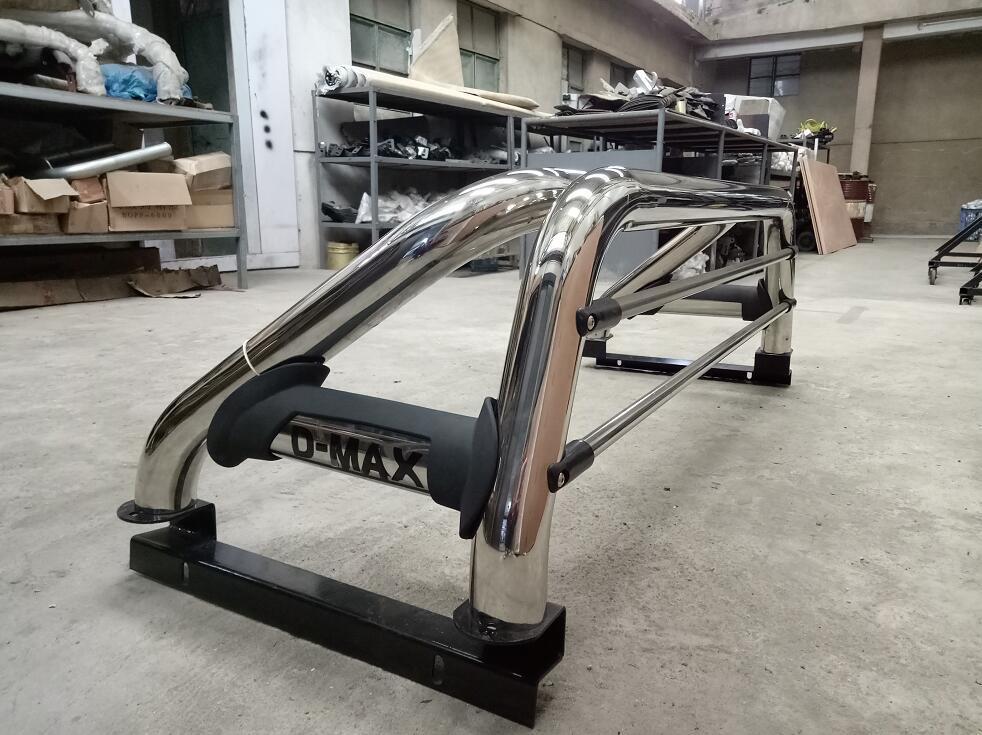 Isuzu D-Max Pickup Body Kit Bull Bar Roll Bar