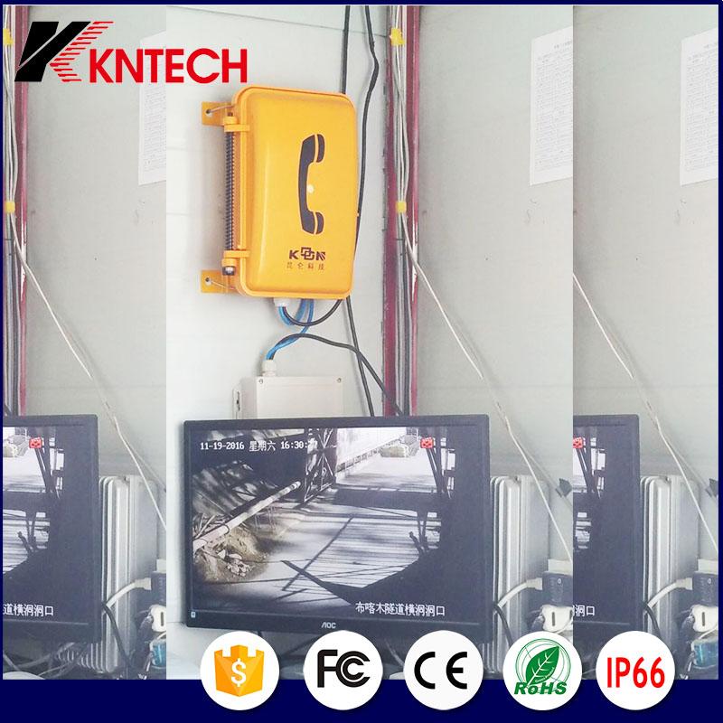 Waterproof Telephone Louderspeaker Knsp-08L Broadcast Phone Kntech