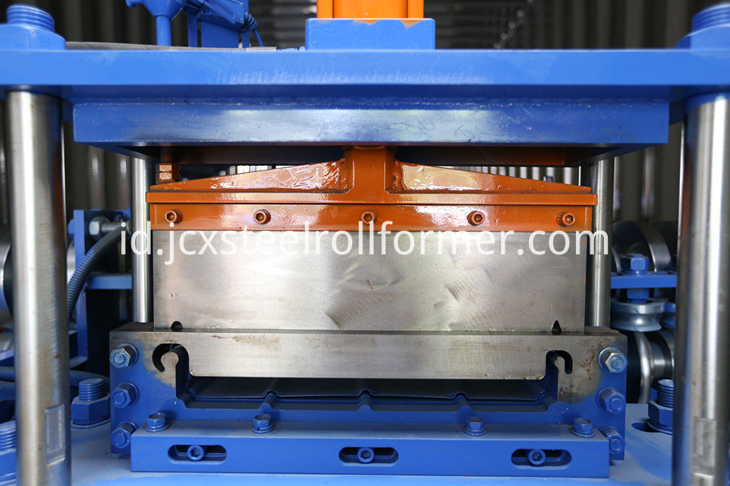 Joint Hidden Standing Seam Roofing Machine, Berdiri Seam Metal Roofing, Lock Seam Machine