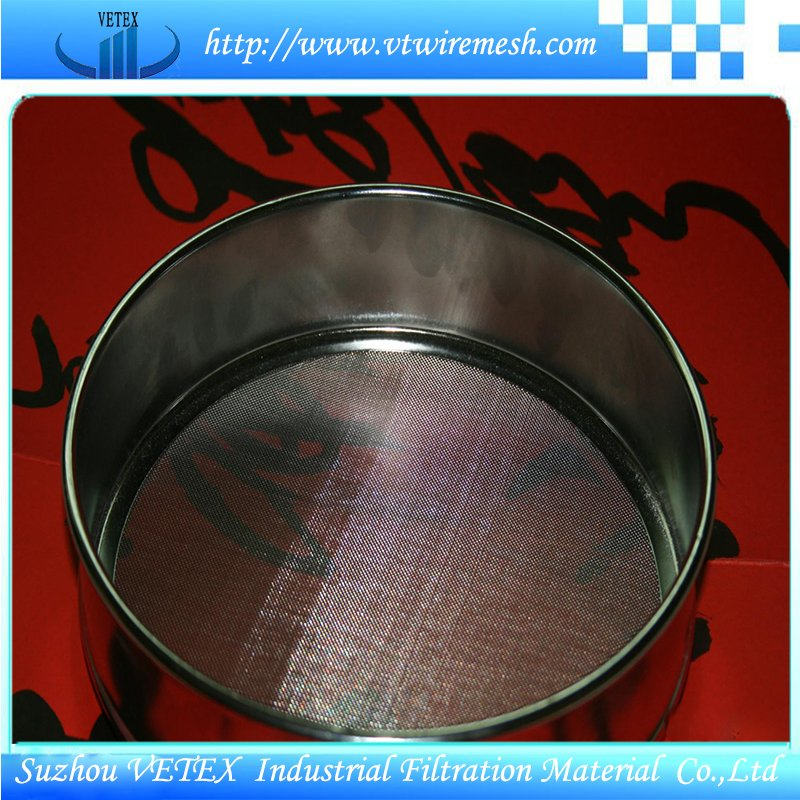 Stainless Steel Sample Sieve with SGS Report
