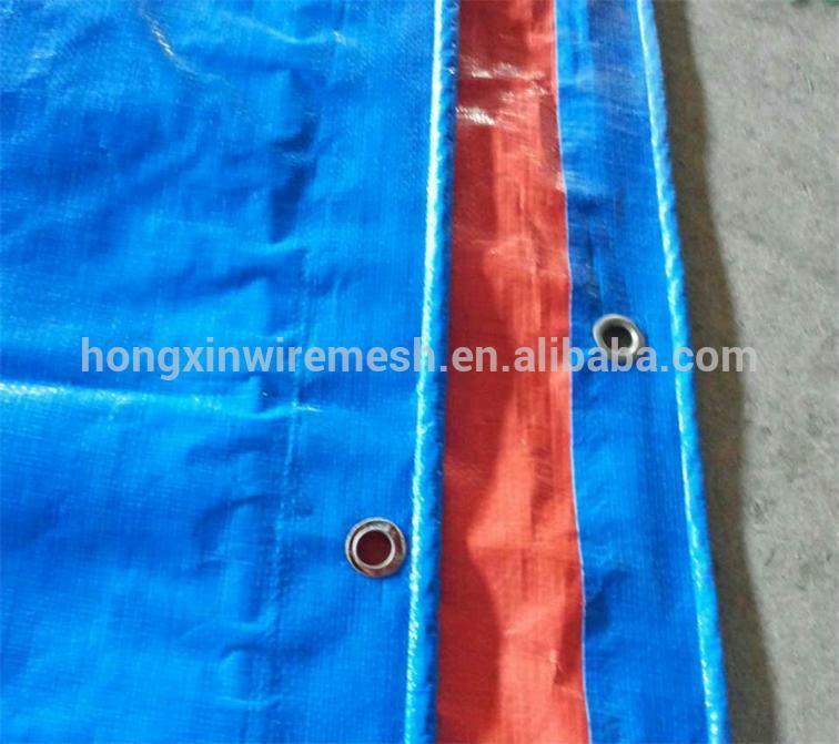 tarpaulin with hem reinforced