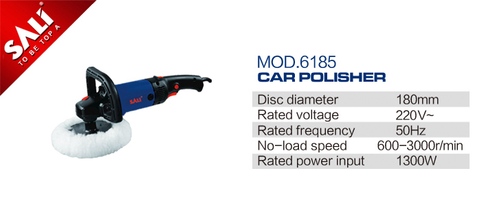 1300W High Quality Electric Polisher Action Car Polisher