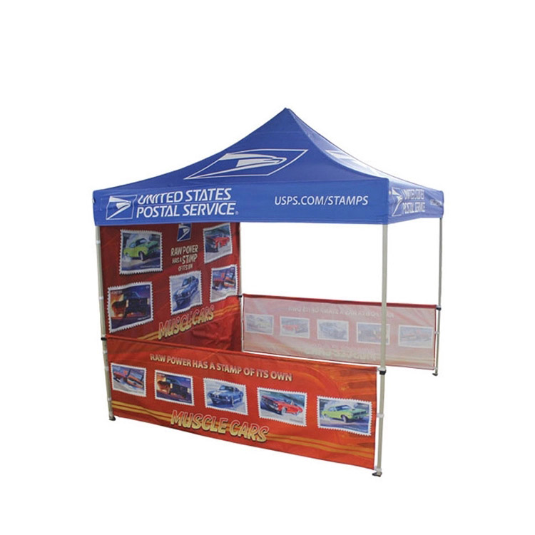 printed folding tent