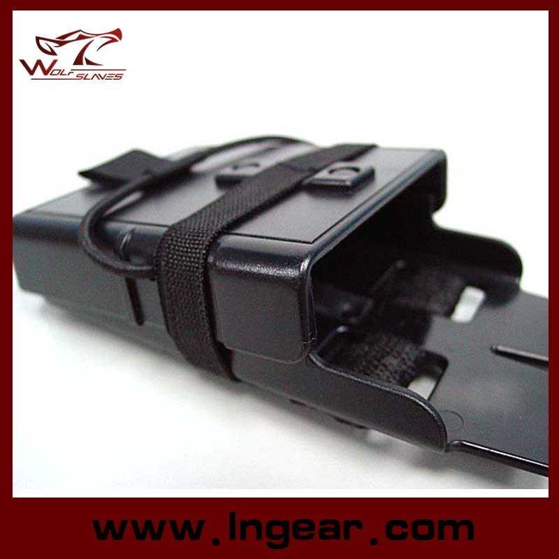 Airsoft Molle Fastmag M4 5.56 Magazine Clip Holder Pouch for Military