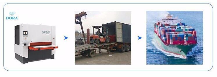 Woodworking Machinery R-RP 630 Heavy Duty Wide Belt Sander Sanding Machine
