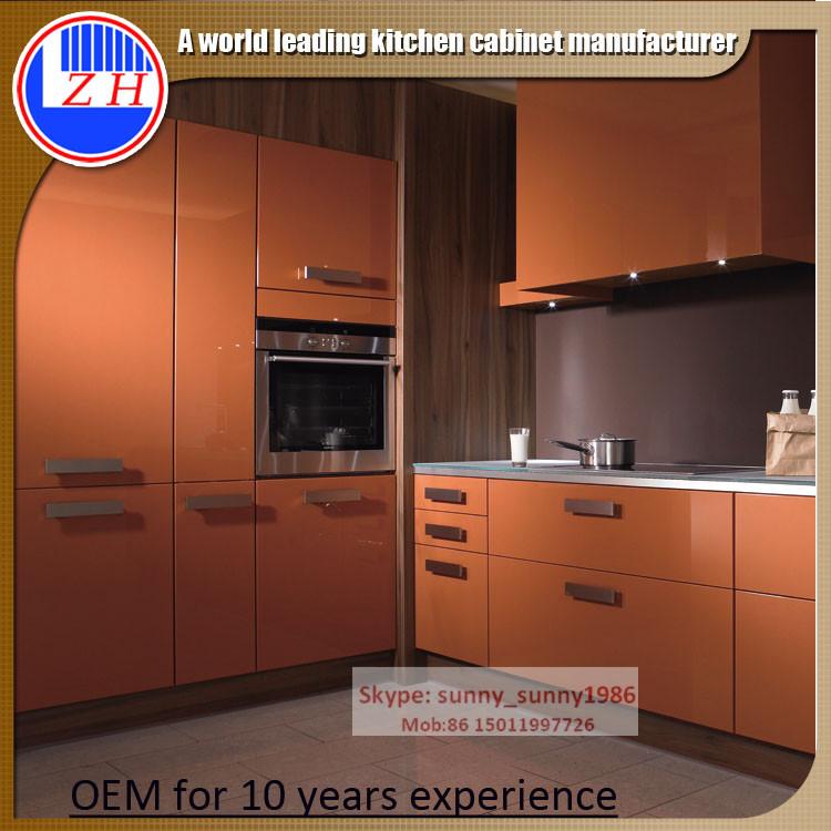 Lacqure MDF Kitchen Cabinets