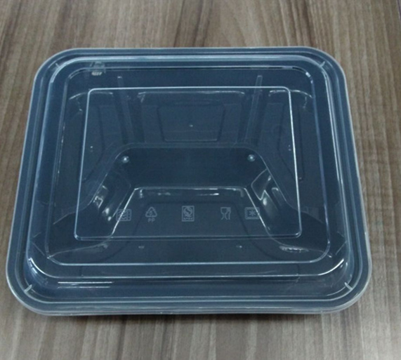 One Compartment Plastic Disposable Microwave Container