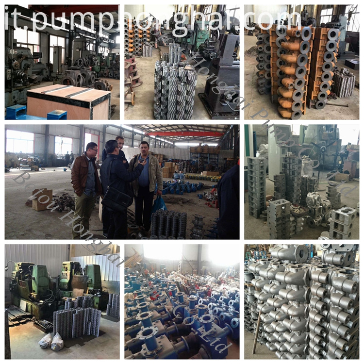 Chemical Industry Three Screw Pump