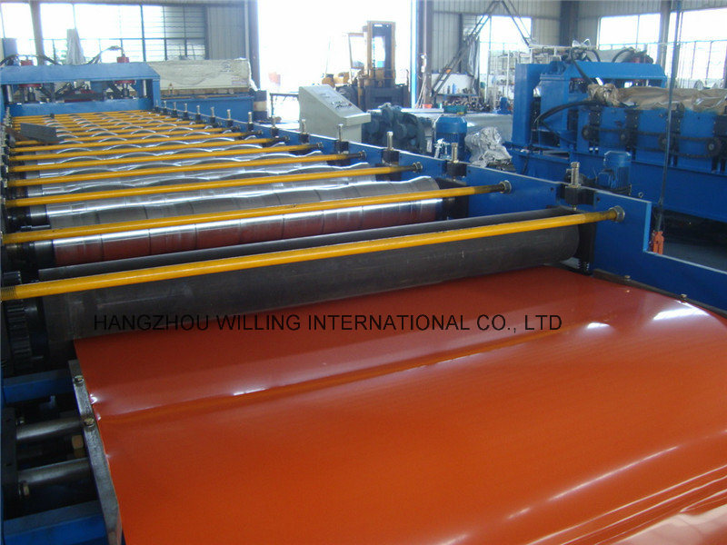 Wave Glazed Steel Tile Roll Forming Metal Forging Machinery