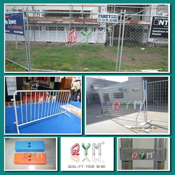 Security Swimming Temporary Fence / PVC Coated Temporary Fences for Kids