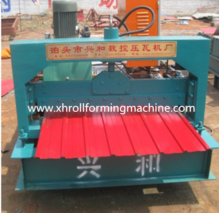 Crimped Steel Wall Panel Roll Forming Machine (XH910)