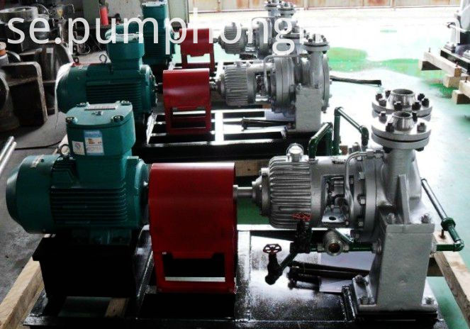 AY stainless steel material hot oil centrifugal pumps
