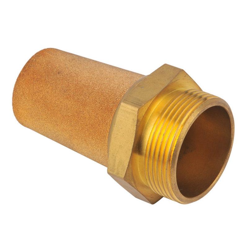 Bsl 1/4 Inch Brass Material Low Price Exhaust Muffler Silencer