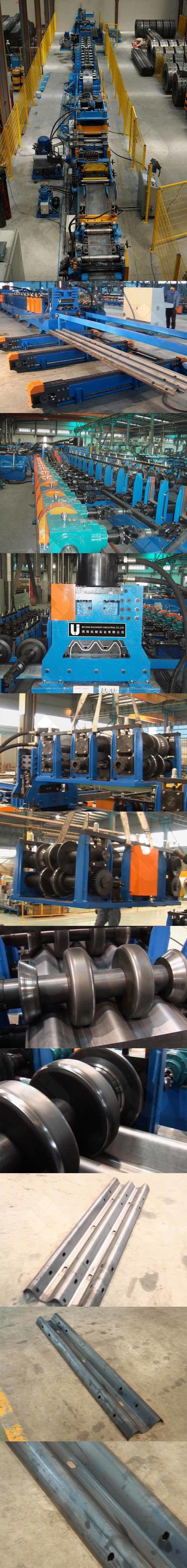 2 3 Space W Beam Guardrail Roll Forming Machine
